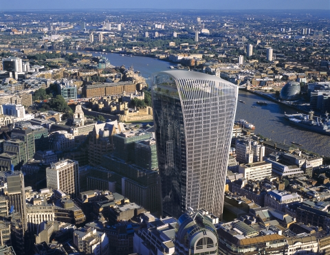 BREEAM RFO Excellent 24th Floor 20 Fenchurch Street for Vanquis Bank -