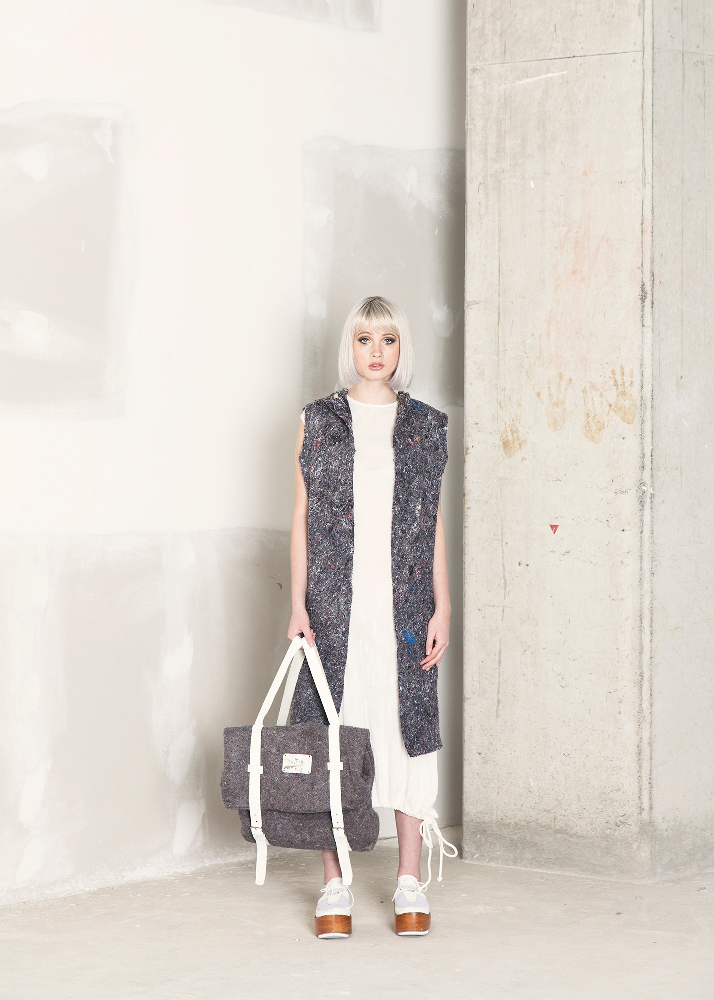 Per Materia  Recycled fibers  Backpack  SOLD OUT
