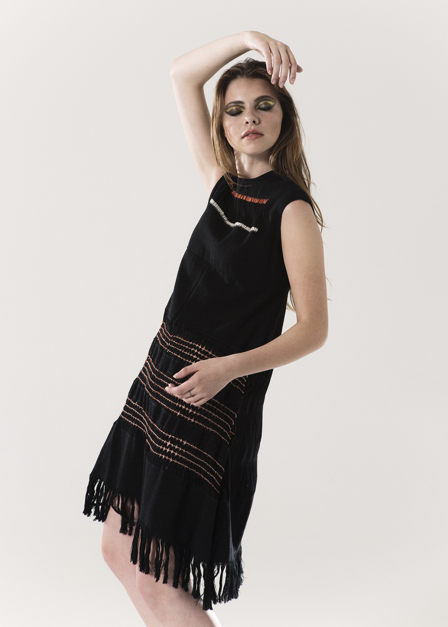 Absentia  A-dress One size Waist loom and hand-embroidered $1,980.00 + Shipping
