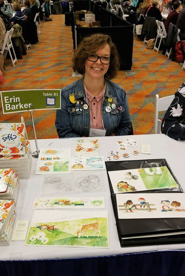 Erin Barker at the 2018 Books by the Banks in Cincinnati, Ohio