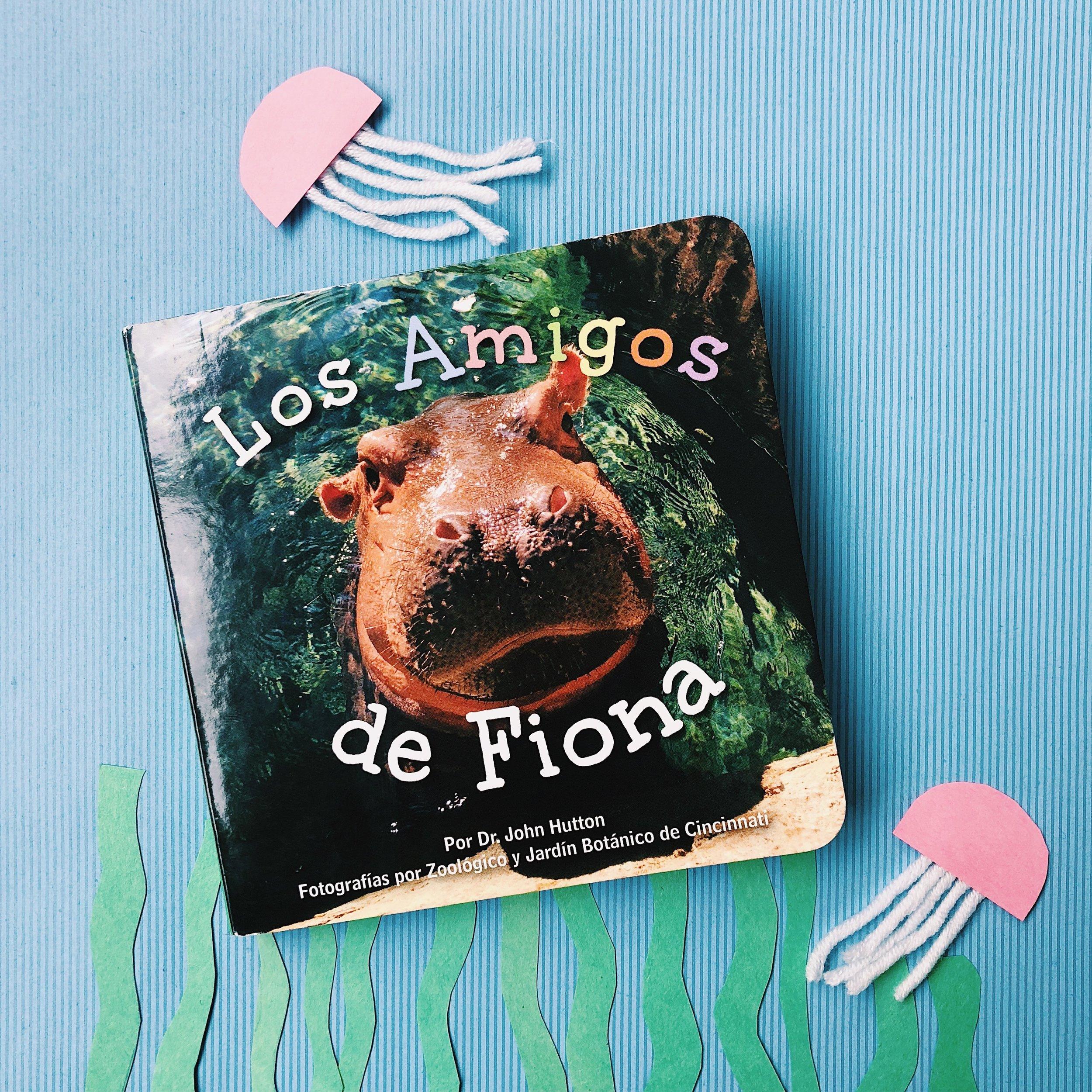 Los Amigos de Fiona (Fiona's Friends) coming soon from blue manatee press!