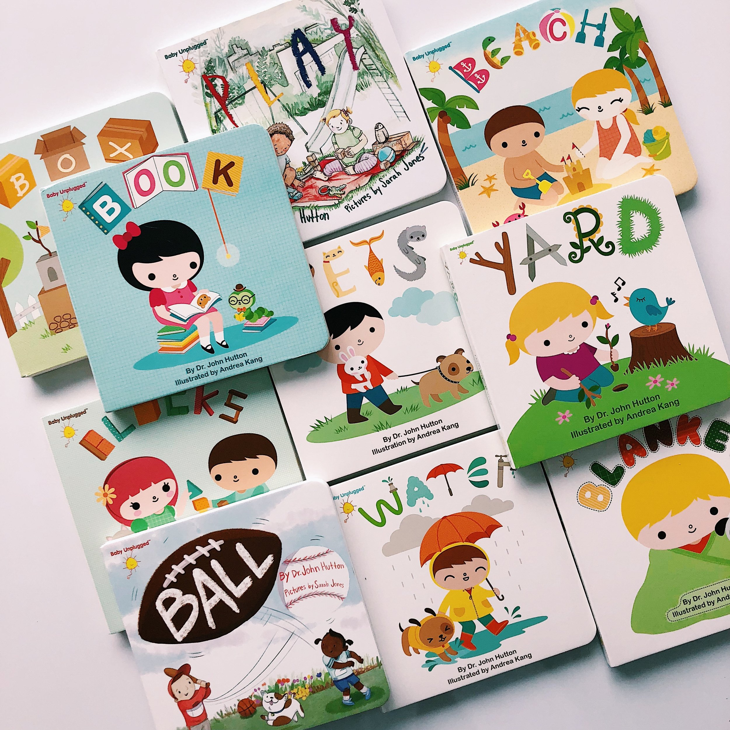 The  Baby Unplugged  is a series of ten books in total with plans to add more to the collection.
