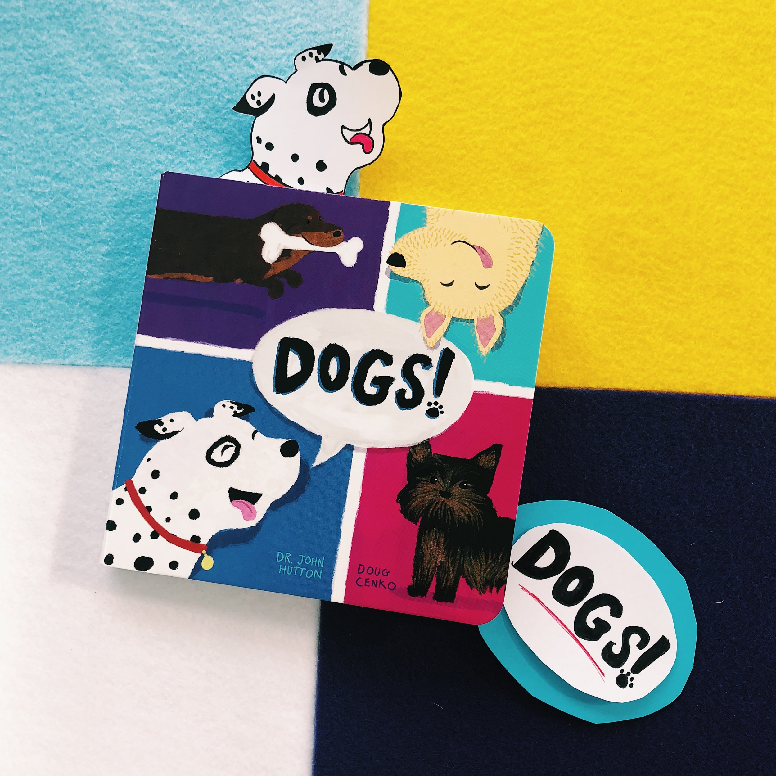 Dogs!   written by Dr. John Hutton and illustrated by Doug Cenko