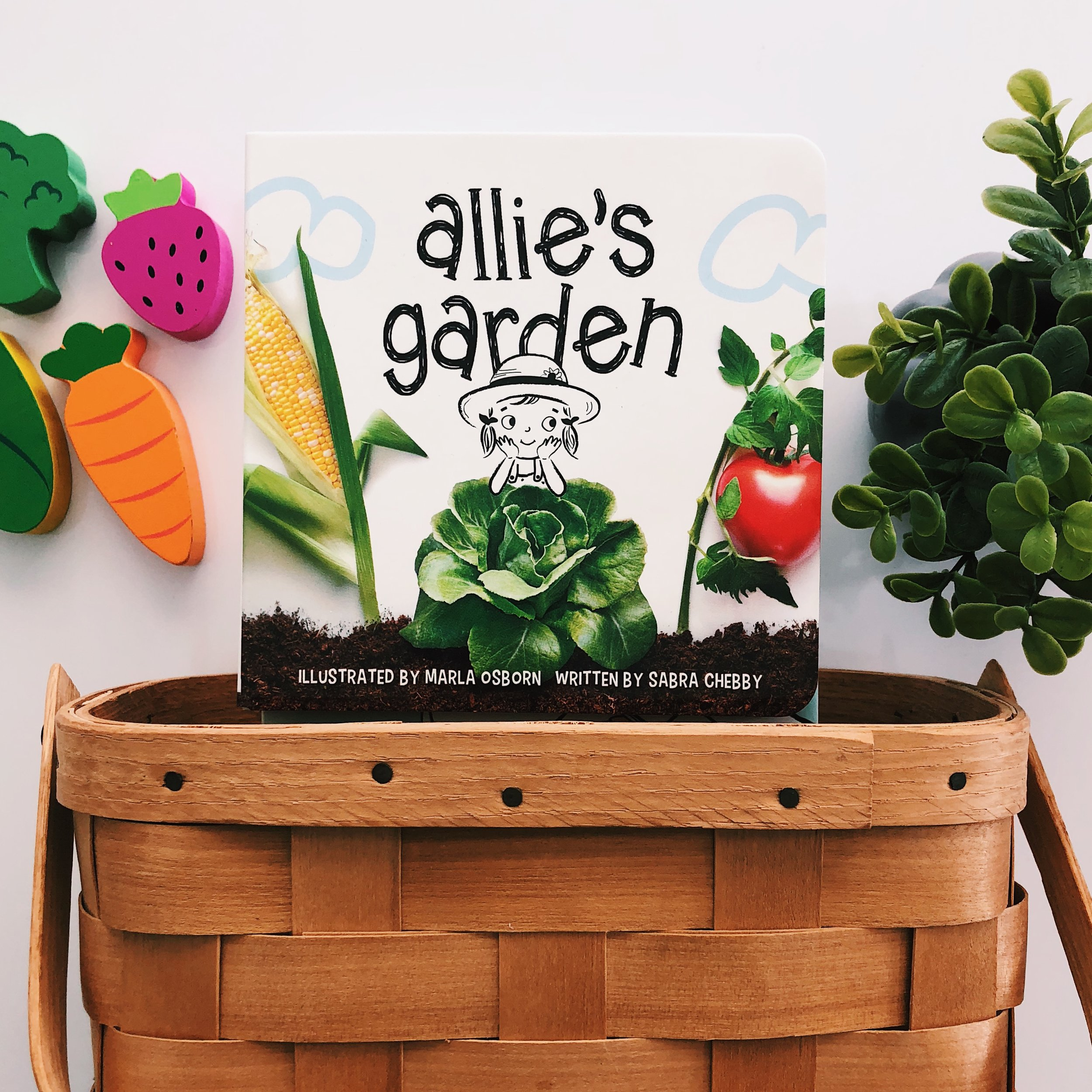 Allie's Garden  , written by Sabra Chebby and illustrated by Marla Osborn
