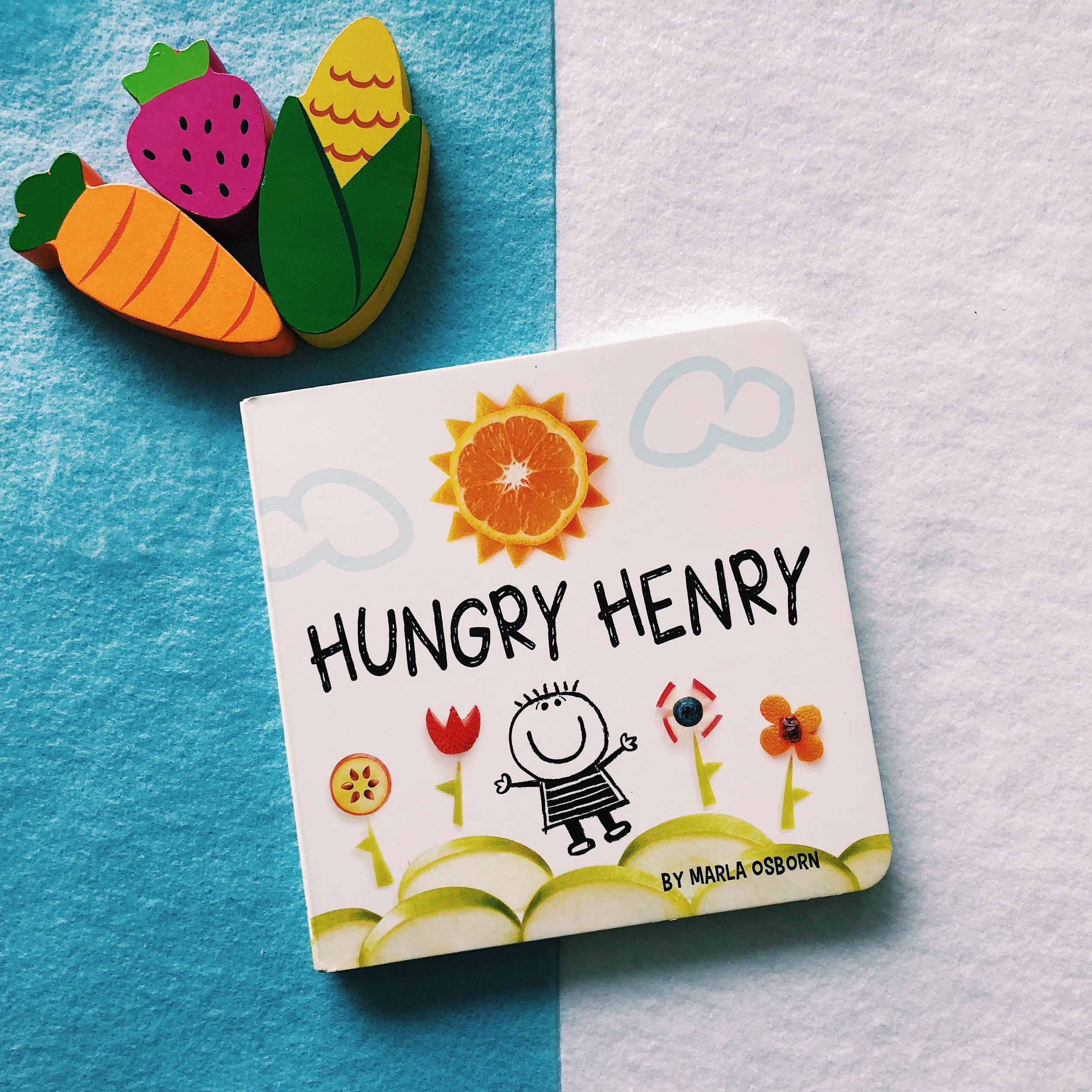 Hungry Henry     written and illustrated by Marla Osborn