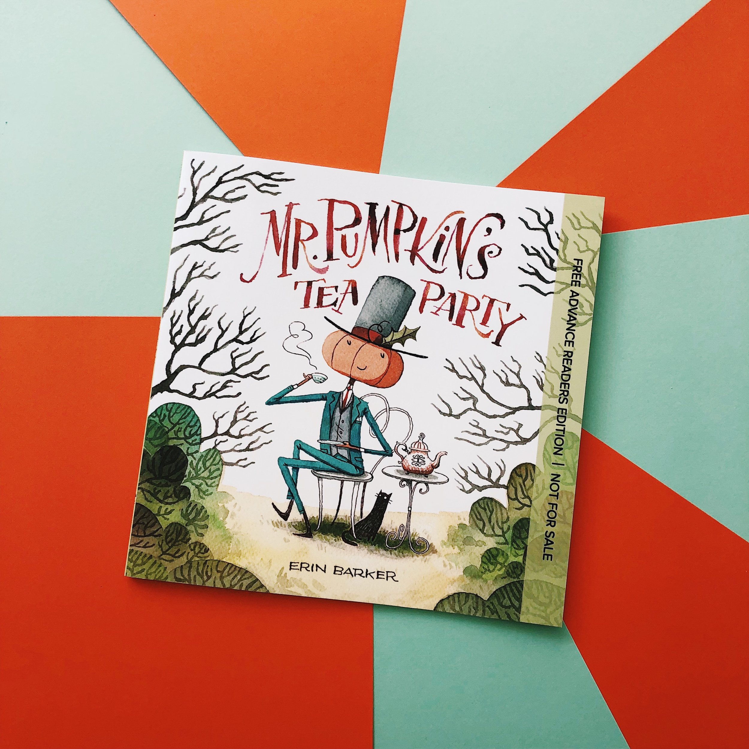 Mr. Pumpkin's Tea Party     is available this September—pre-order it on National Book Lovers Day and get excited for a new book to read!