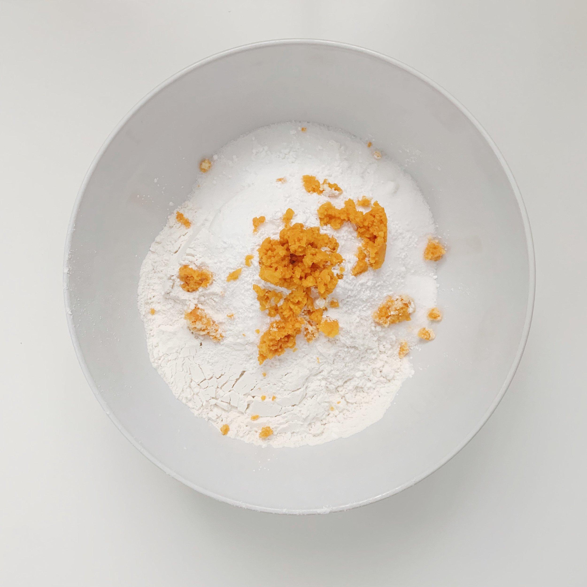blue manatee press_cranberry orange scones recipe_mr. pumpkin's tea party_1.JPG