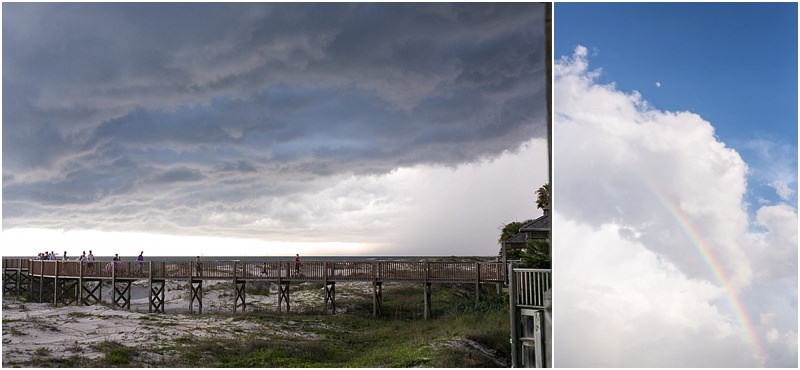 Storm Rainbow Photography