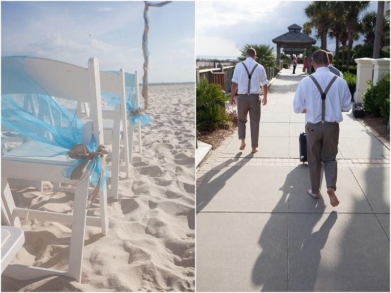 Groom Walking To Ceremony