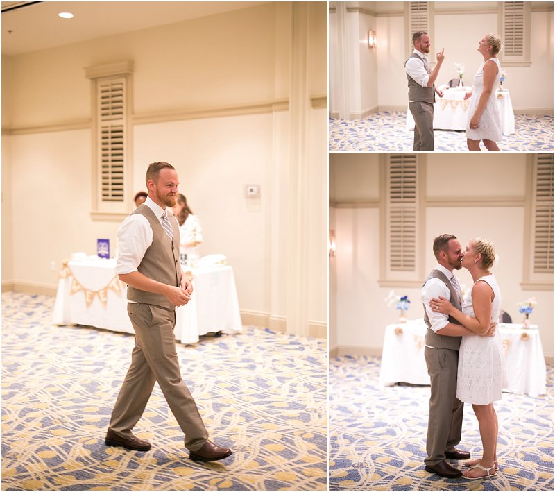 So during the reception, there was a special event planned. Anyone up for Dirty Dancing?? They had rehearsed the exact dance from the movie and performed it for their guests!! Sid was such a good sport and was awesome as Patrick Swayze ;)