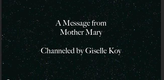 Channeling - A Prayer from Mother Mary - Featured Image - DO NOT DELETE