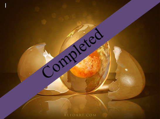 completed egg