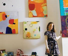 owner, art consultant, Inez Baird