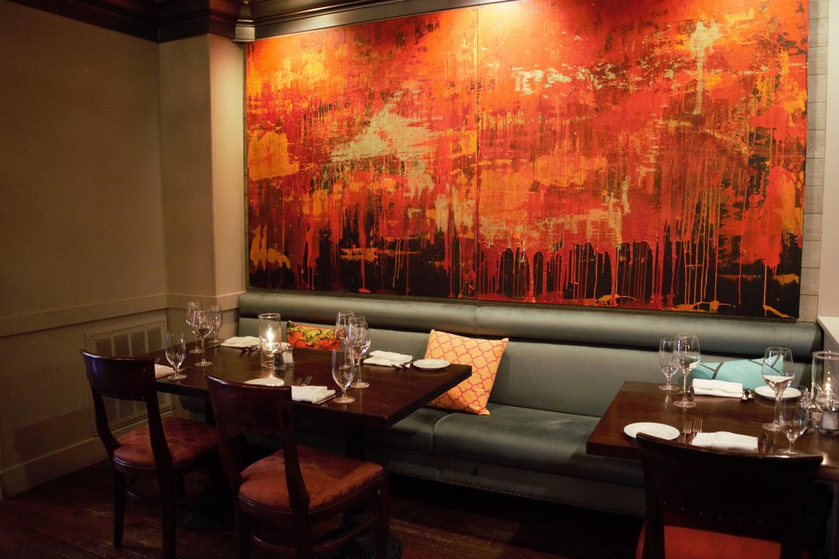 Stage Left Reinvents Dining Room With New Art Gallery -