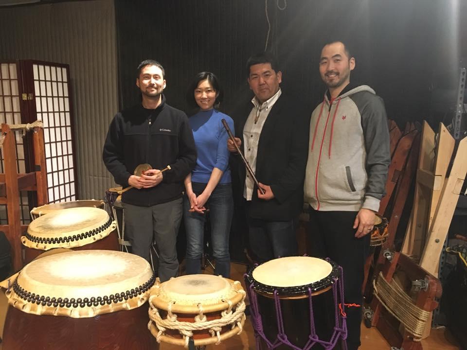 From left: Eien, Fumi, Bunta, and myself © Bunta Sato
