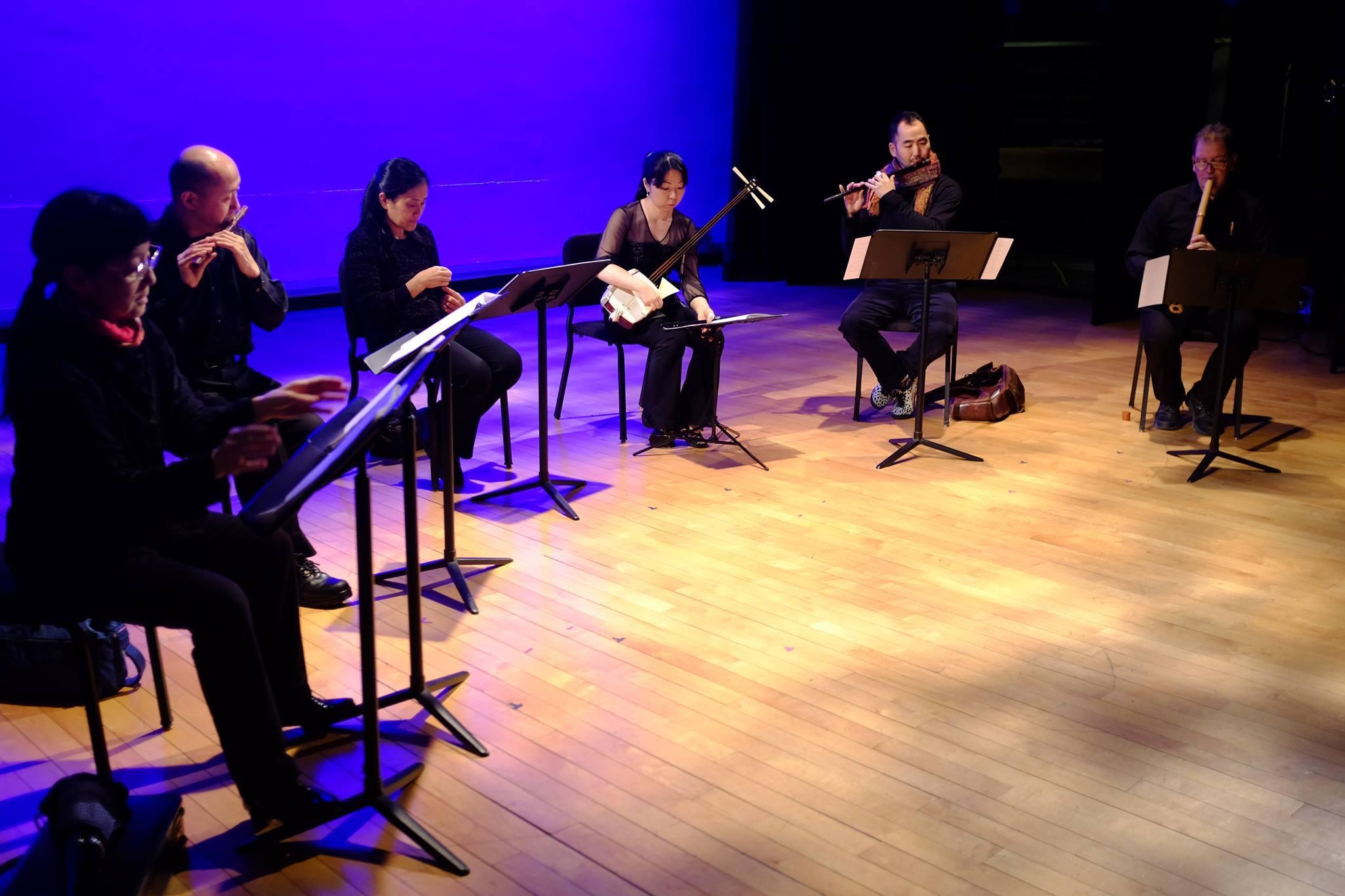 From gagaku concert @ Columbia University © Marty Regan