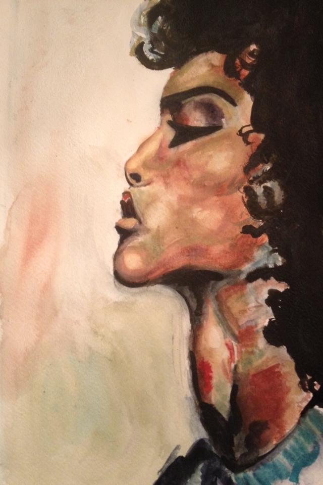 Swan (Watercolor)