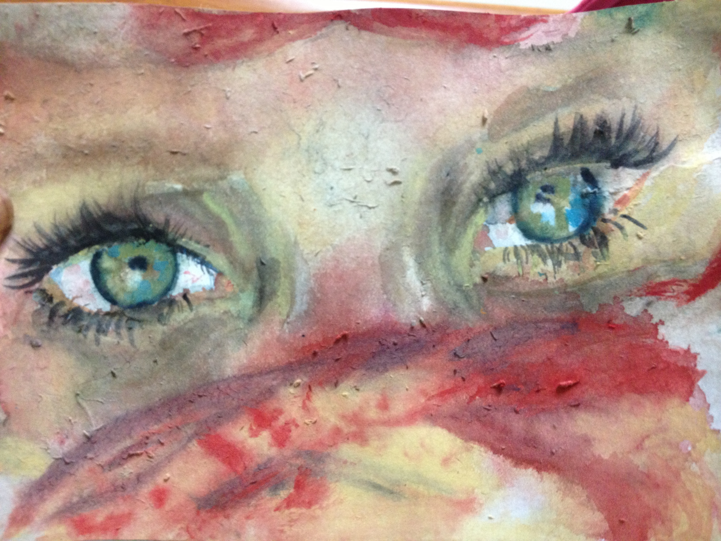 """Saskia"" (Watercolor)"