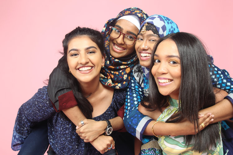 Photograph of mentees of   non-profit, Embrace Her Legacy.
