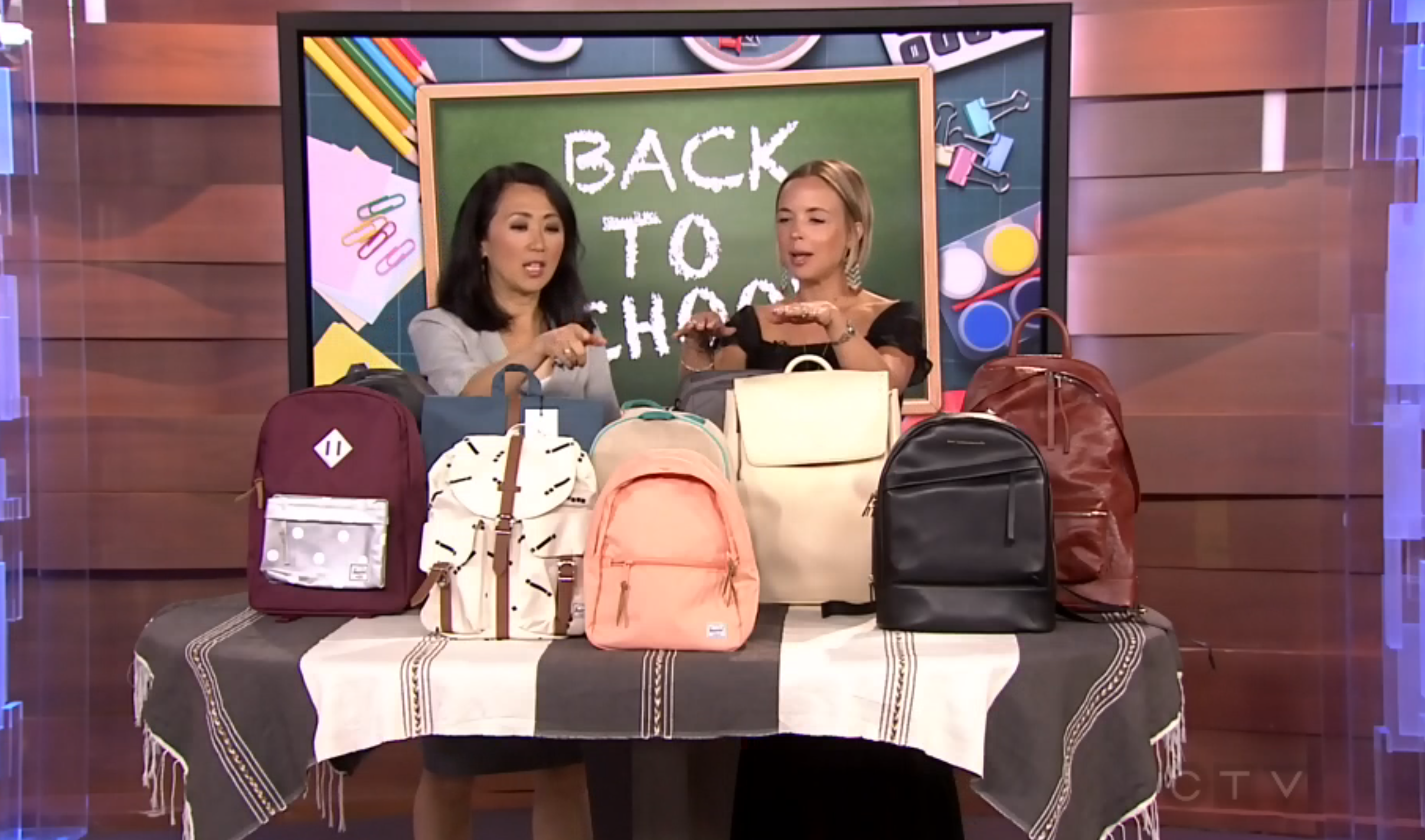 CTV Morning Live: Shopping for the Right Backpack