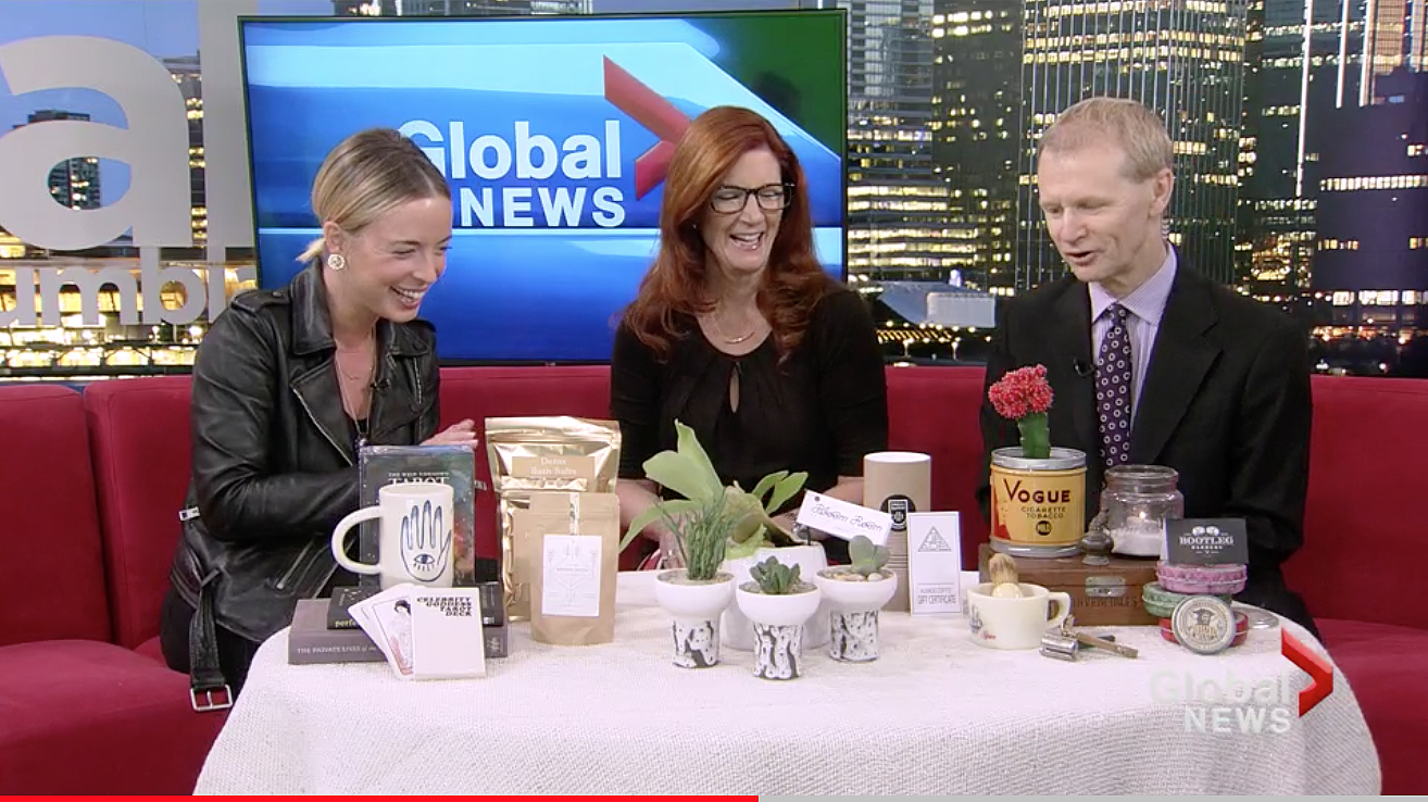 Global News at Noon: Shop Local with Cool Gift Ideas from Close to Home