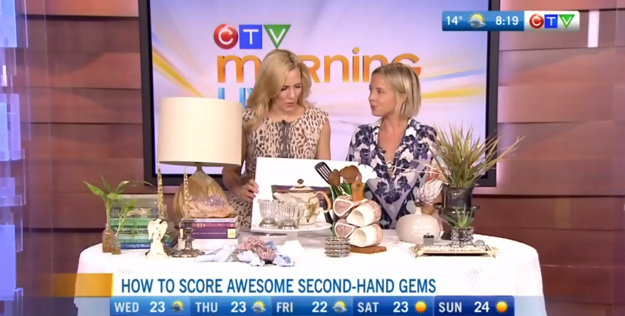 CTV Morning Live: Fabulous Thrift Store Finds