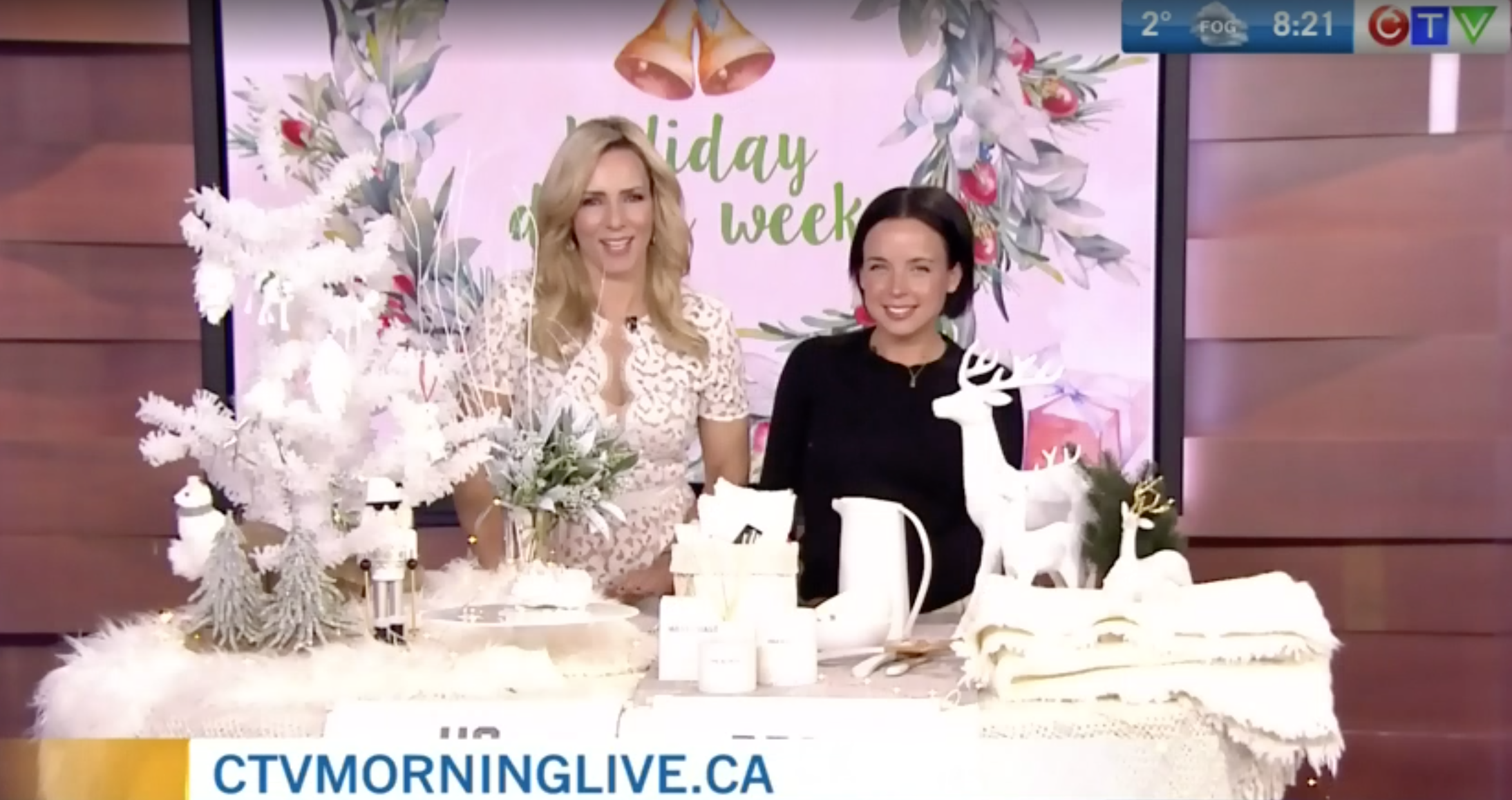 CTV Morning Live: How to create a white Christmas with decor