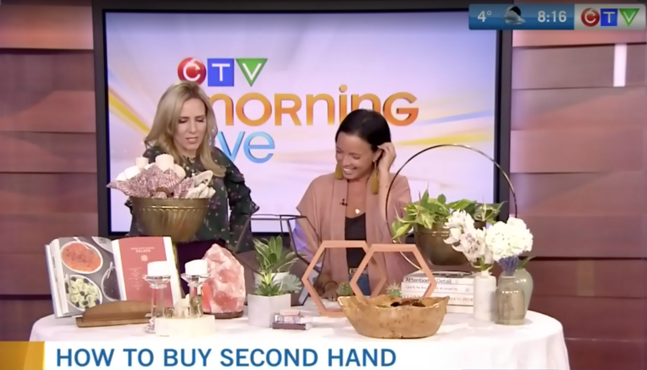 CTV Morning Live: How to score stellar finds shopping second hand