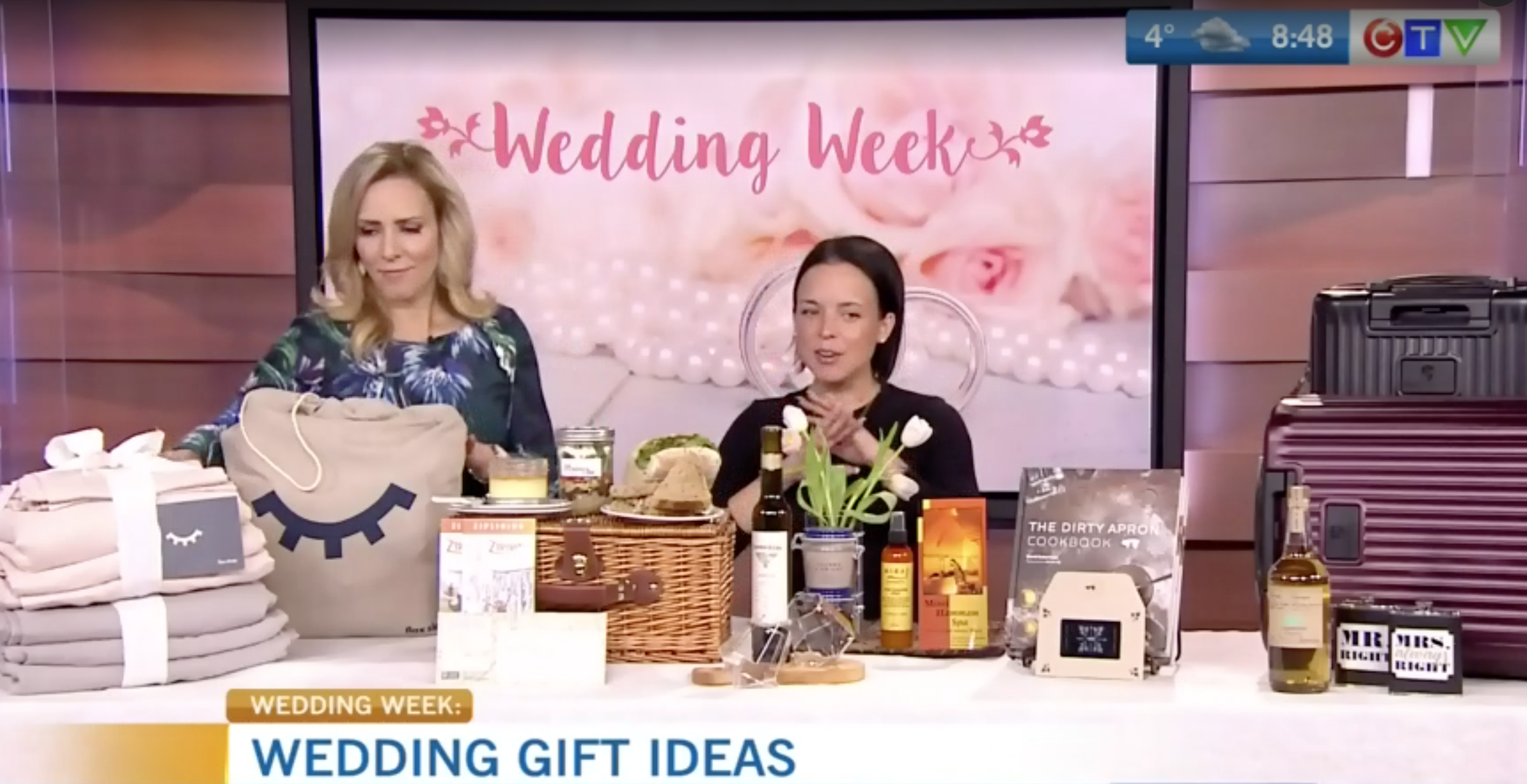 CTV Morning Live: Unique gift ideas for the bride + groom