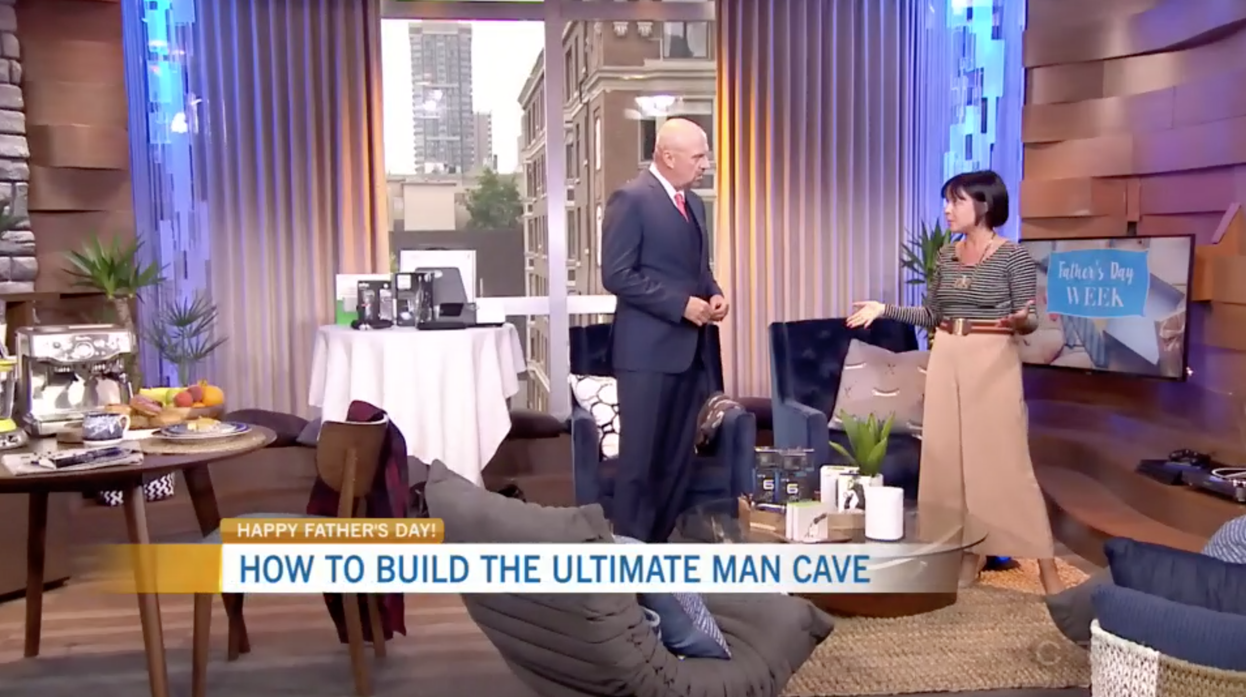 CTV Morning Live: Building the Ultimate Man Cave with Best Buy Canada