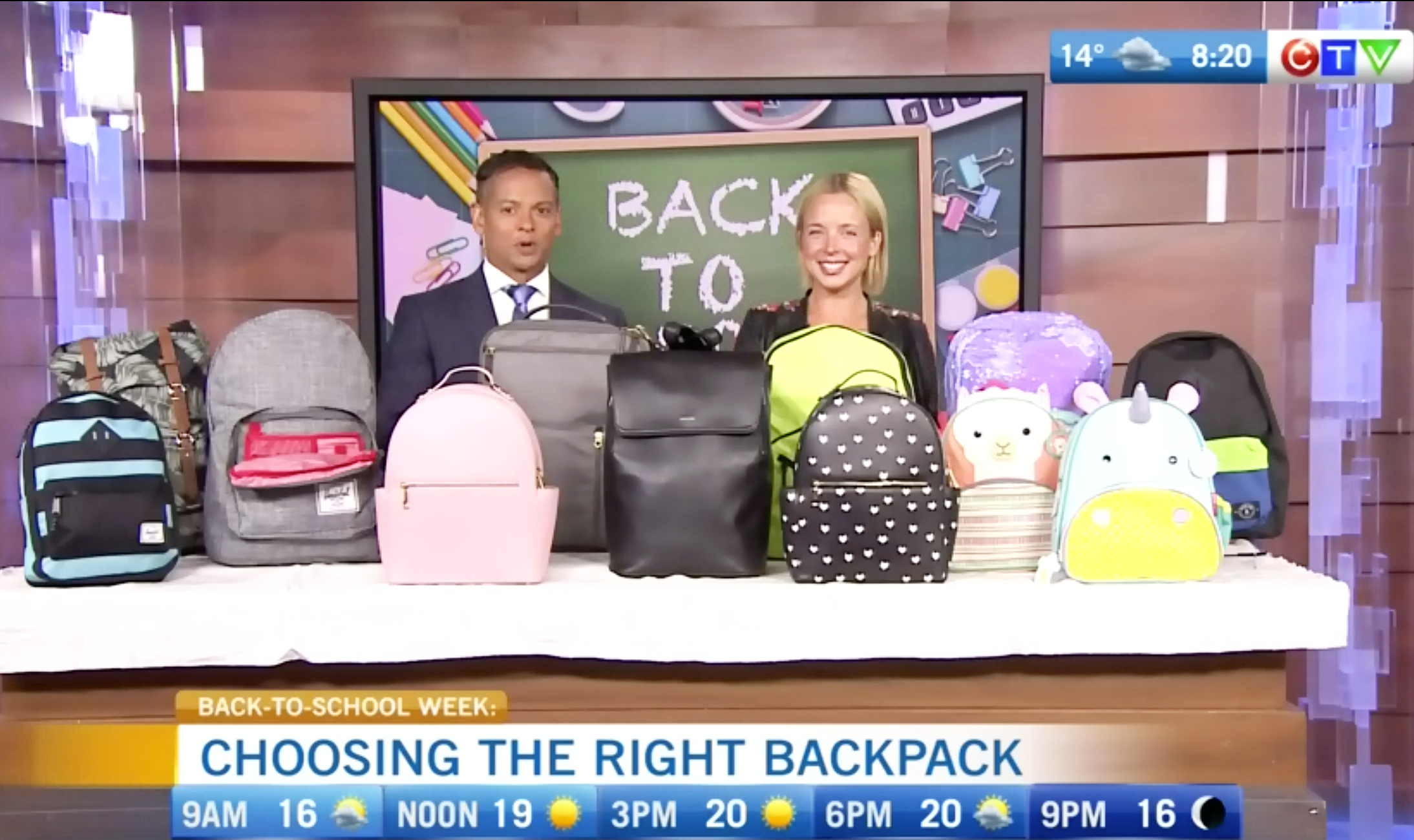 CTV Morning Live: The best backpacks for Back To School