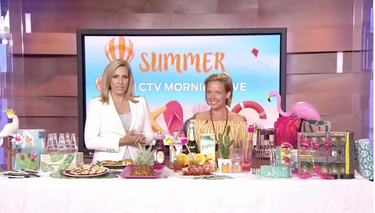 CTV Morning Live: Hosting the Ultimate Retro Inspired Patio Party