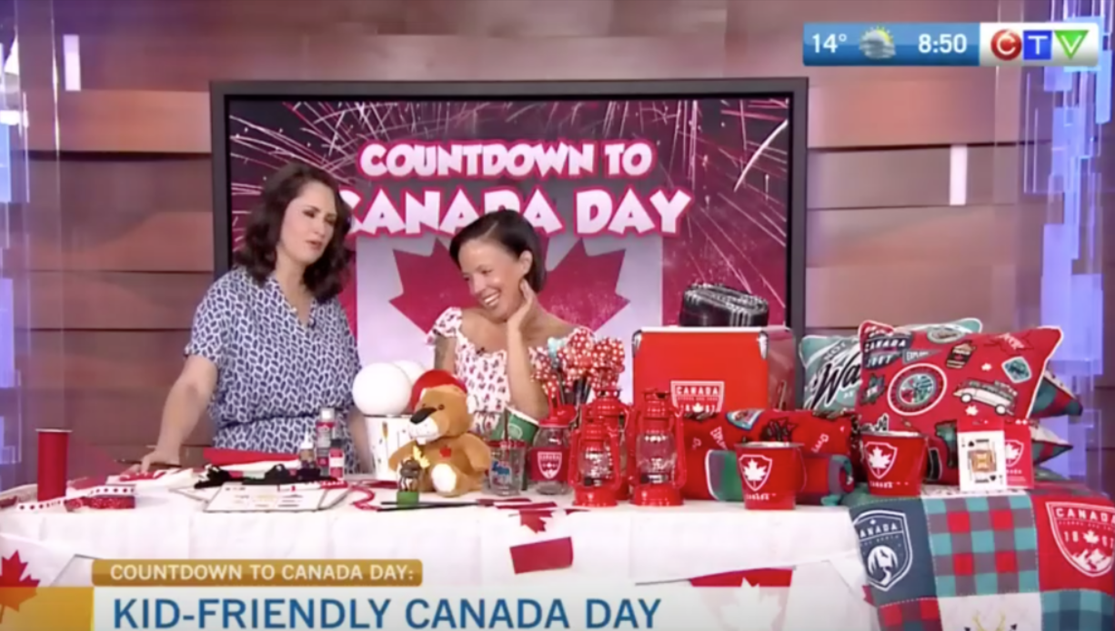 CTV Morning Live: Throwing a Stellar Canada Day Soiree for Kids