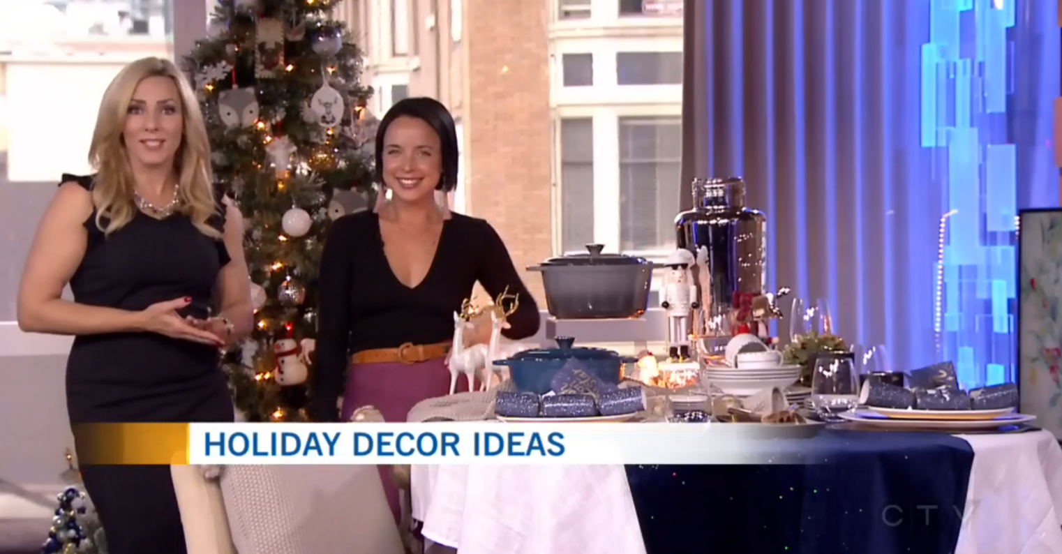 CTV Morning Live: Decor Tips for Chic Holiday Entertaining