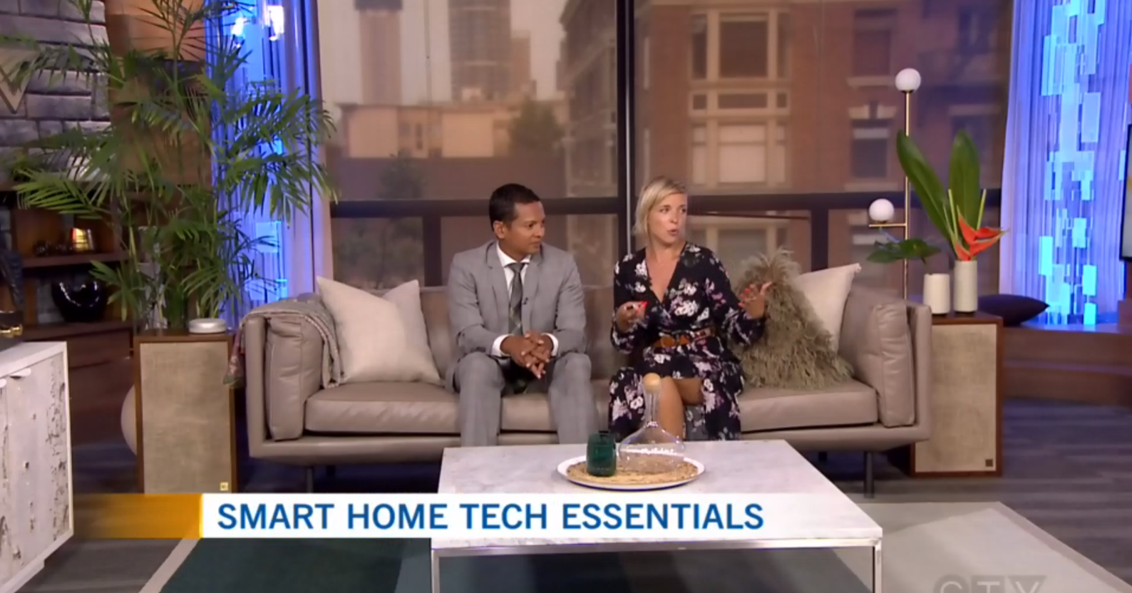 CTV Morning Live: Stylishly Integrating Technology into Decor