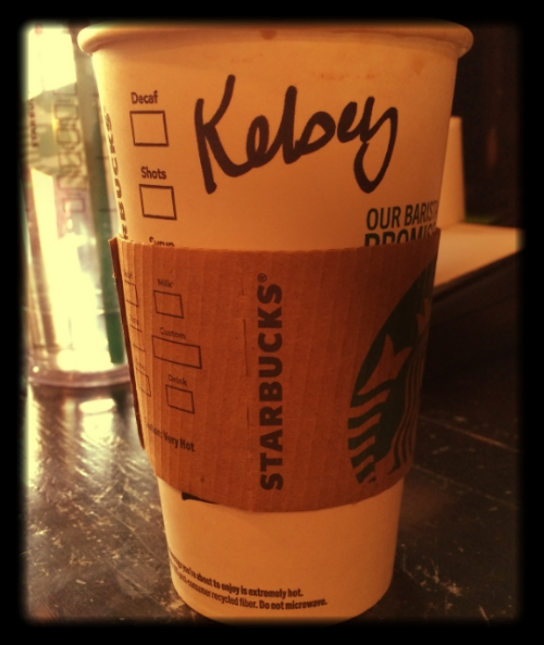 My friend Sarah told me Starbucks had Coconut Milk... I had to investigate! Yahoo!