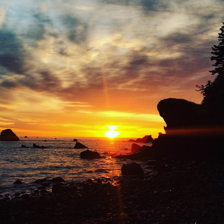 Sun still rising in Kodiak!
