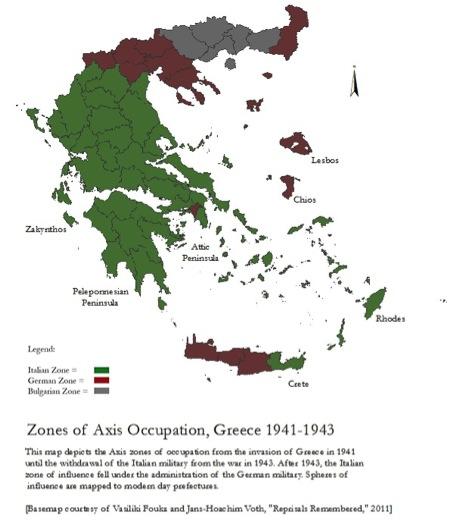 Zones of Axis Occupation [ArcGIS Document by Zander Abranowicz]