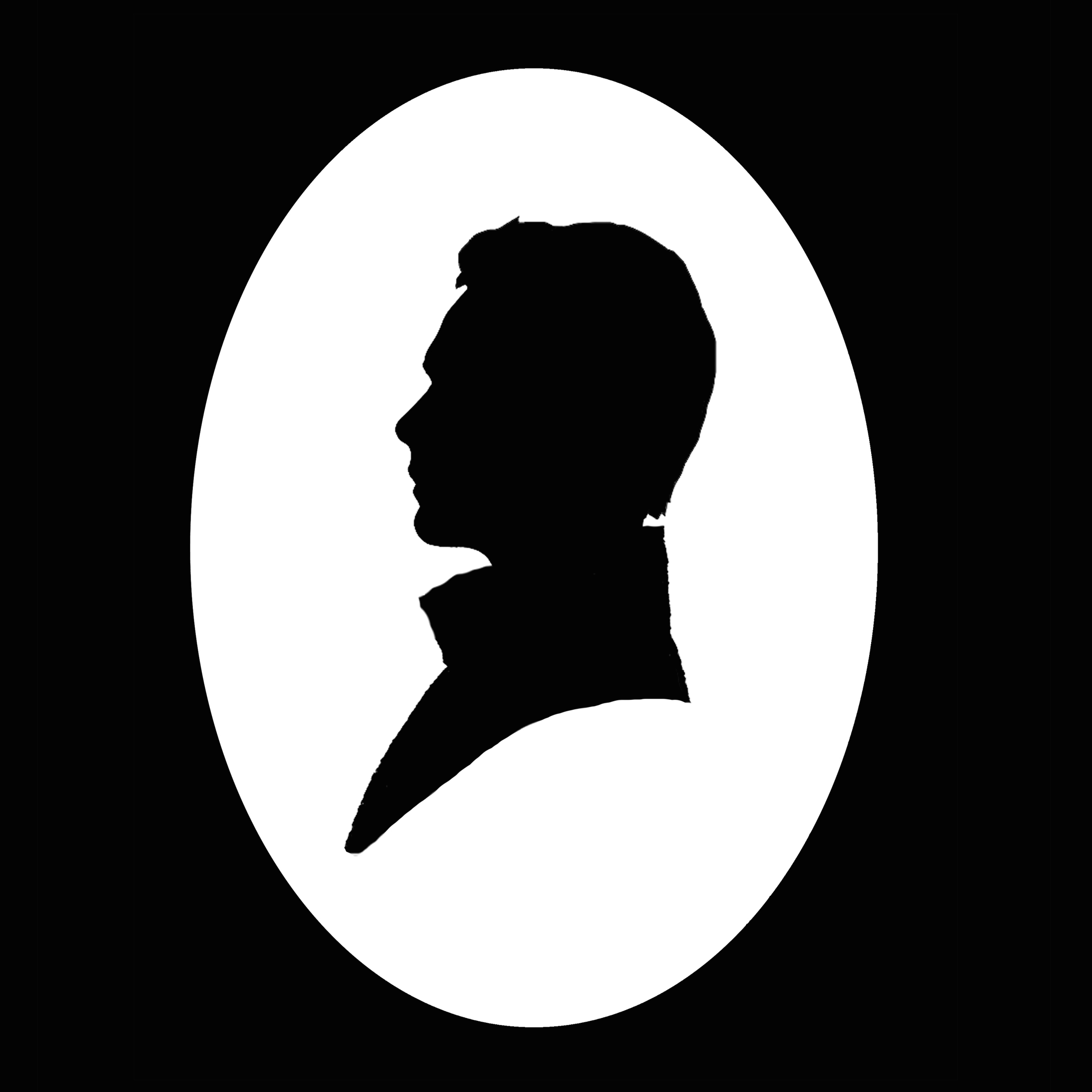 Silhouette Portrait of the Artist as a Young Man