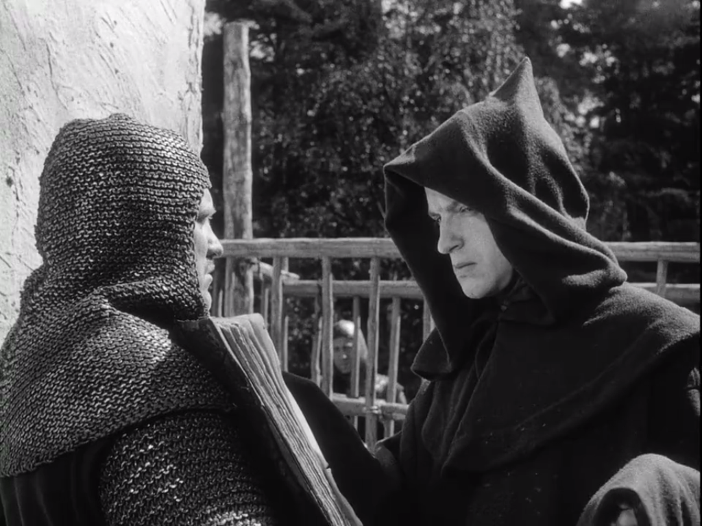 Coping with the Black Death in  The Seventh Seal