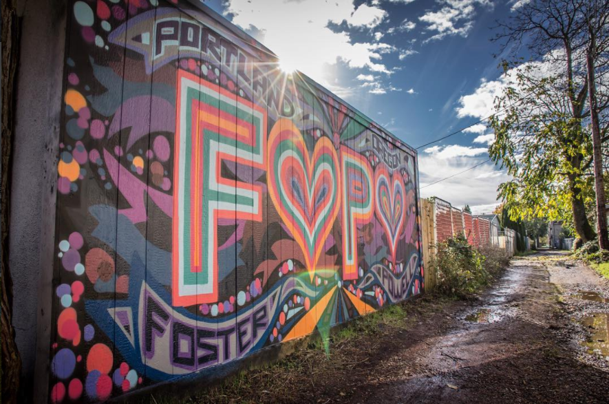 Foster-Powell (FOPO) Mural - 2016