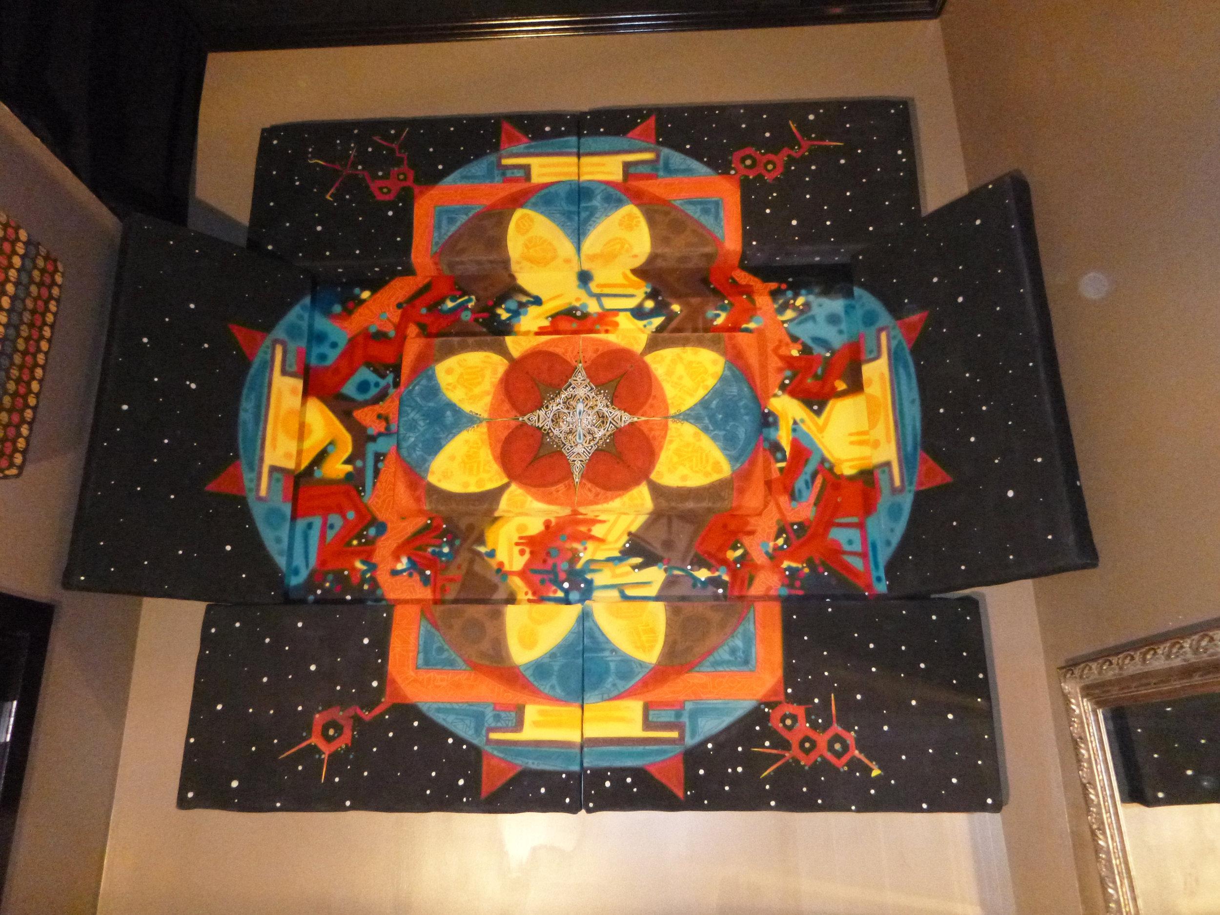 Flatline Studios Drum Room Mandala - 2014