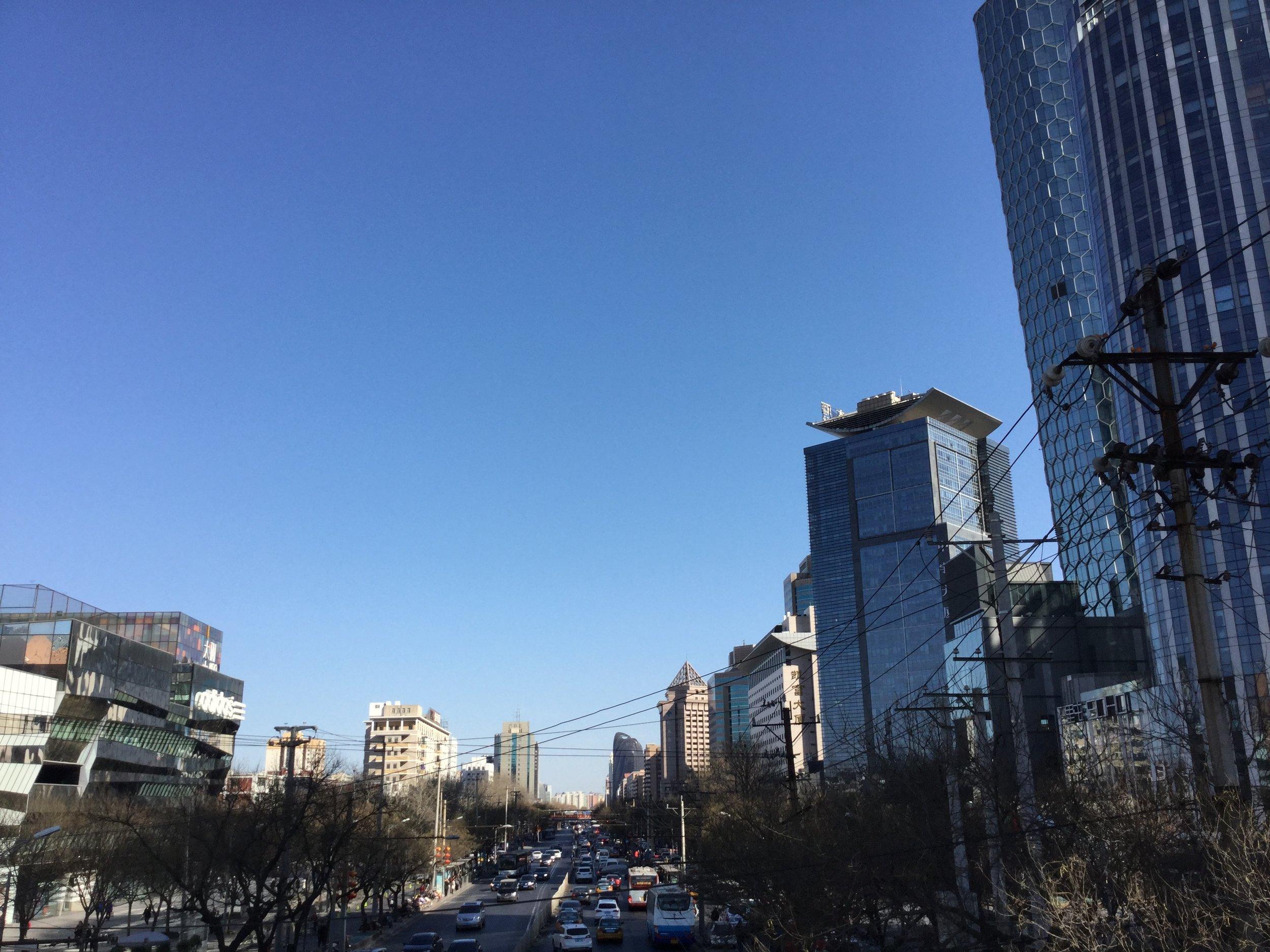 Beijing streets