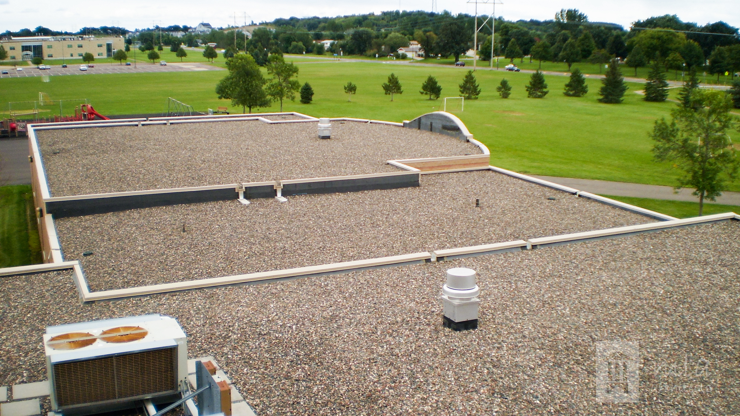 Little Mountain Elementary Roof Replacement, Monticello Schools