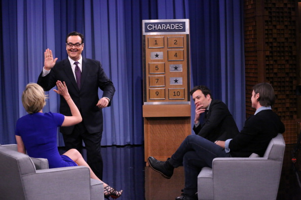 Fallon incorporates games, music, and playfulness into every interview.