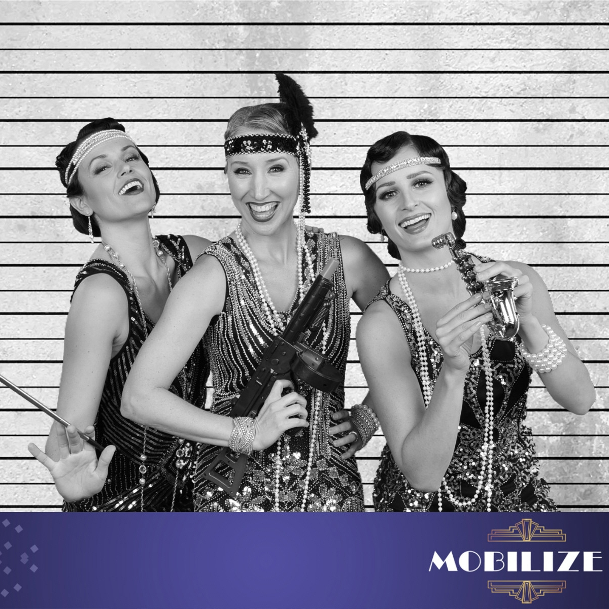 Flappers at the ACL Speakeasy