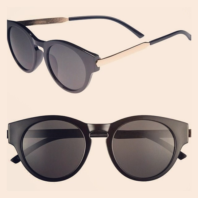 #sunglasses #sunnies #shades #shape #retro #plastic #metal #black #gold #optical #modernoptical #menswear #mensfashion #womanswear #womansfashion