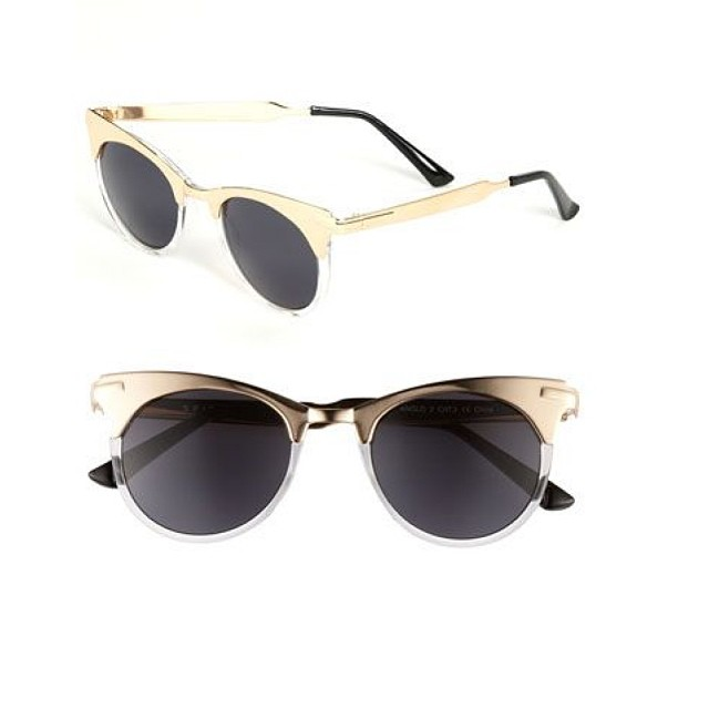 #sunglasses #shades #sunnies #retro #optical #metal #gold #round #modernoptical #womanswear #womansfashion