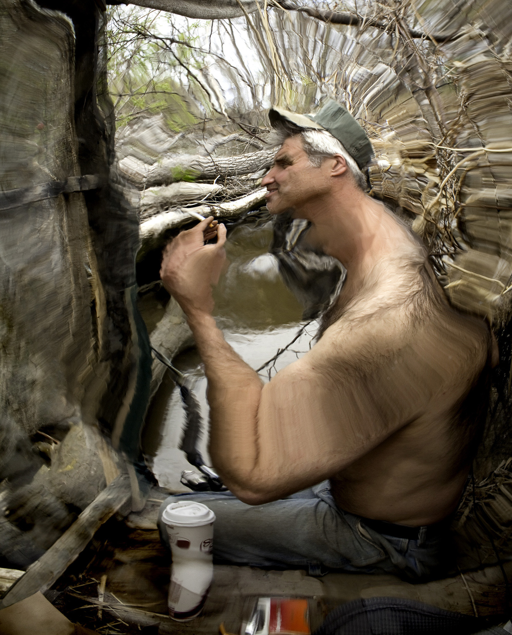 "Self Portrait as Mr. J    2015, 43"" x 35"", Pigment print"