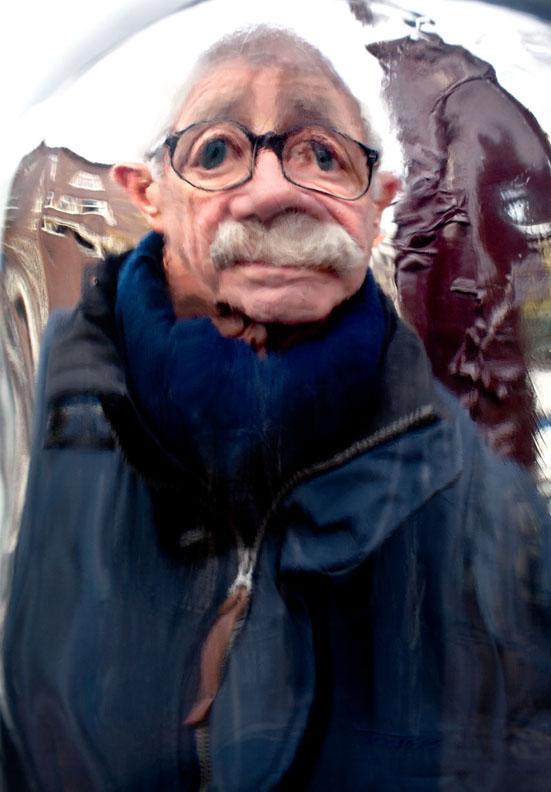 "Man in Amsterdam #5     2016, 42"" x 29"",Pigment print"